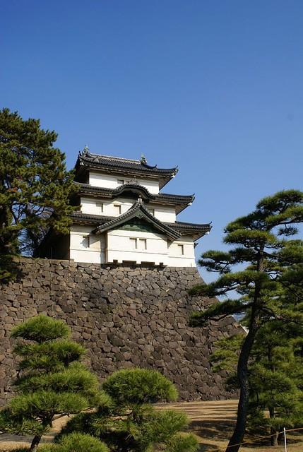 「江戸城の富士見櫓」