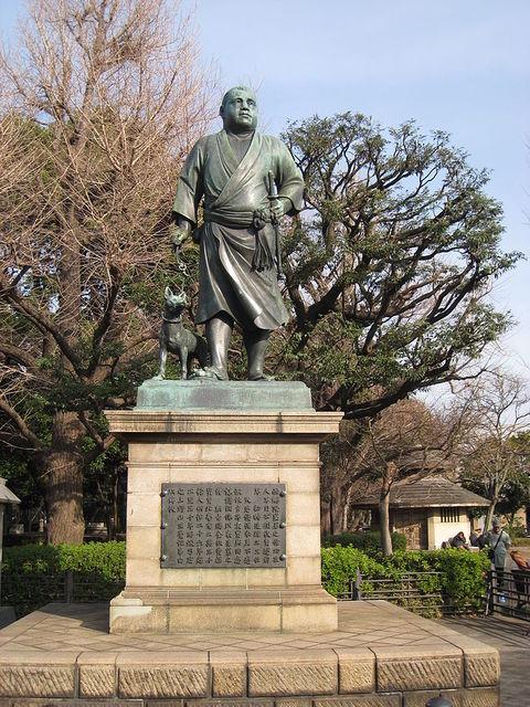 有名過ぎる「西郷隆盛像」