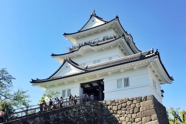 平成の大改修直後の小田原城
