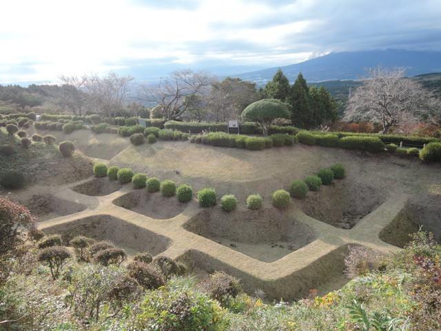 【山中城】土の城といえば、山中城の障子堀