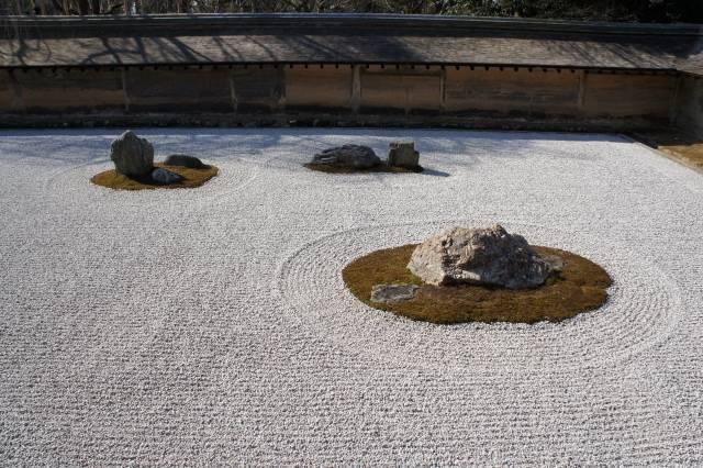 龍安寺の枯山水