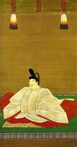 後醍醐天皇の跡を継いだ後村上天皇像