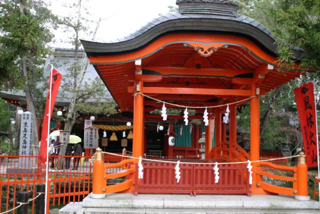 長野県 生島足島神社