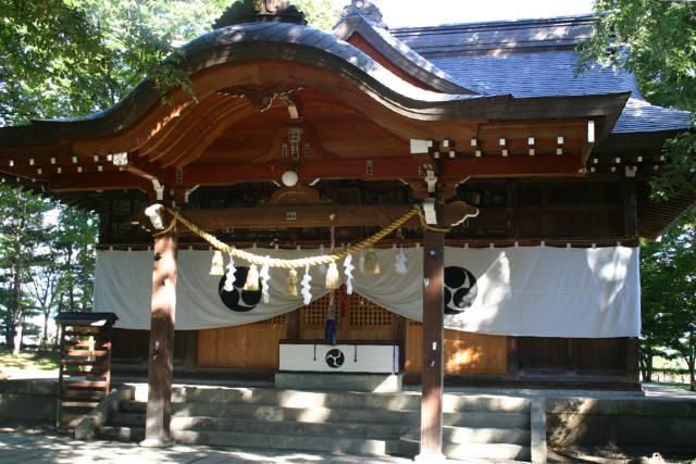 長野県 八幡原史跡公園(川中島古戦場)