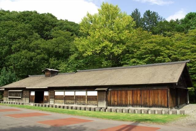 博士と生徒たちが別れた旧島松駅逓所(北広島市)