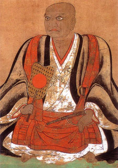 立花道雪像(福岡県柳川市福厳寺所蔵)