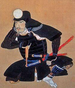 後藤基次像(福岡市博物館蔵)