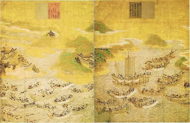『安徳天皇縁起絵図』赤間神宮所蔵