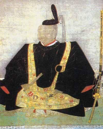 立花宗茂の晩年の肖像画。