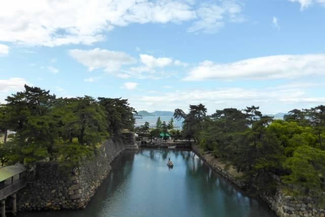 高松城は代表的な海城