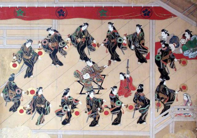 若衆歌舞伎図