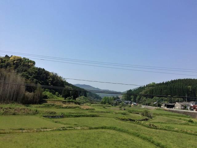 田原坂付近の風景