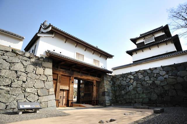 福岡城跡 大手門