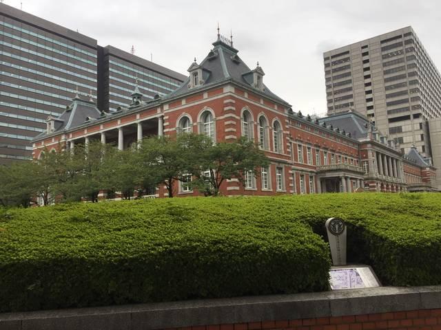 米沢藩上杉家江戸藩邸のあった法務省庁舎