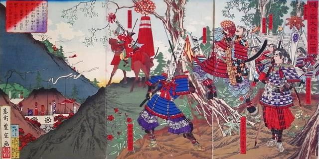 『賤ヶ嶽大合戦の図』