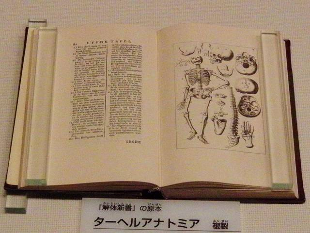 『解体新書』の原書『ターヘル・アナトミア』