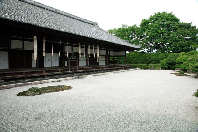 方丈(国宝)と方丈庭園(特別名勝・史跡)
