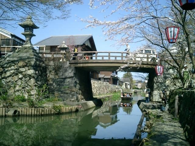 八幡堀(滋賀県・近江八幡市)