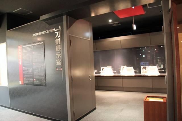 刀剣展示室