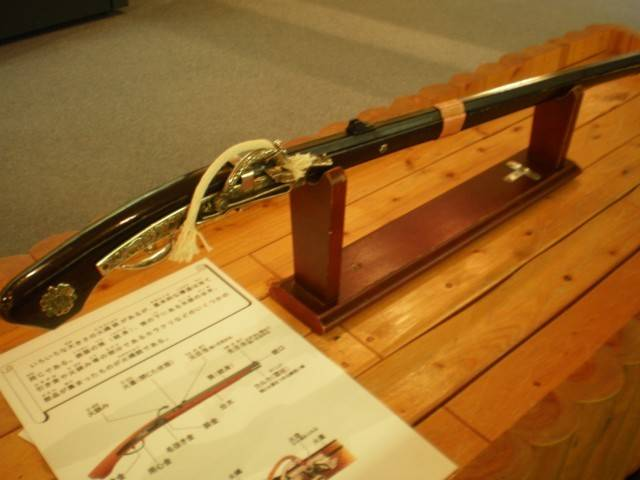 火縄銃のレプリカ