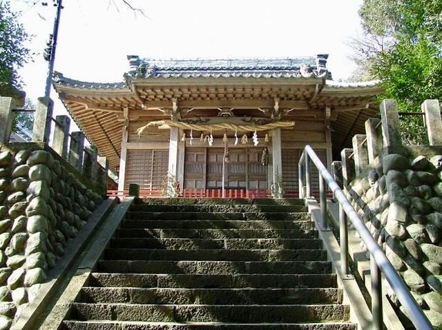 西の丸にある高天神社