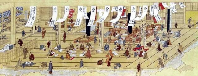 『安永元年 上野店店内見取り図』
