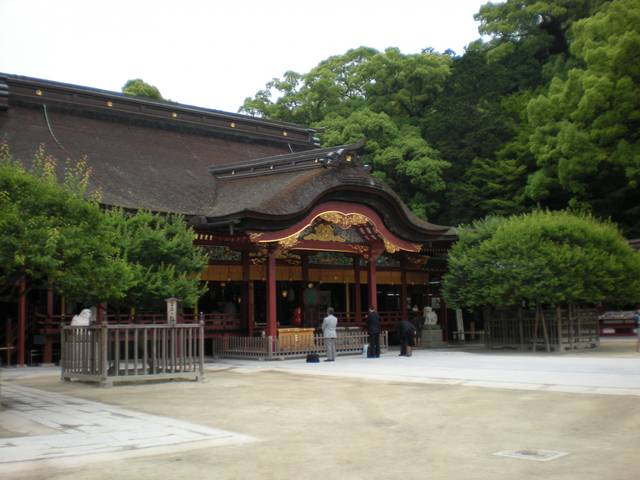 小早川隆景が再建した本殿