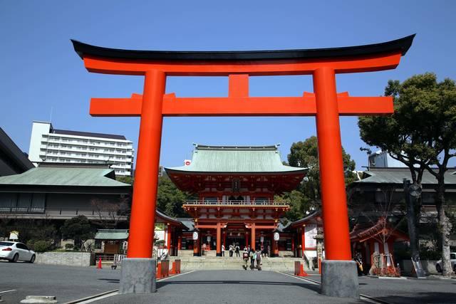恋愛成就にもご利益があるとされる生田神社