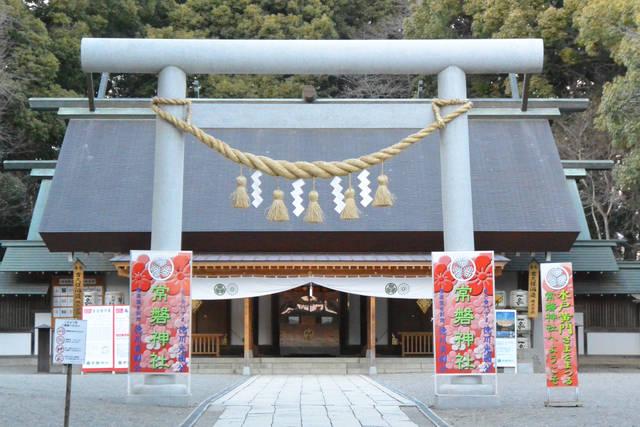常磐神社の社殿