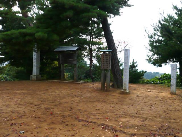 春日山城の本丸