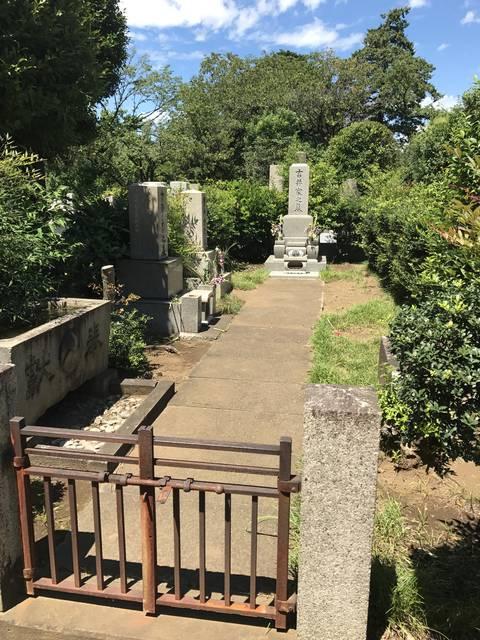 吉井友実(ともざね)の墓