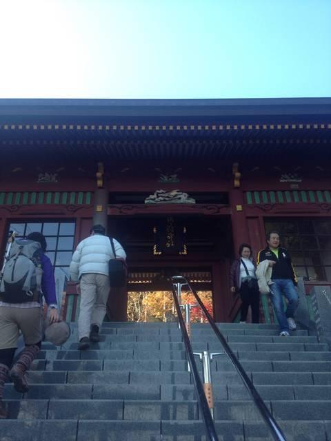 武蔵御嶽神社の階段
