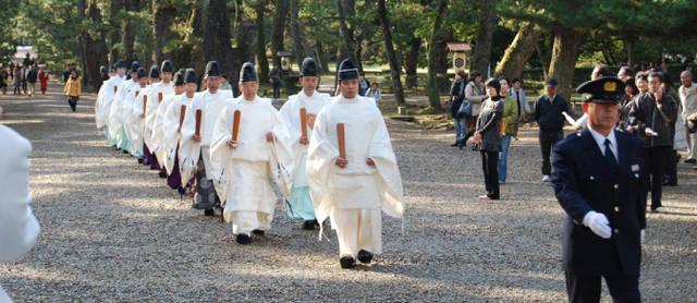 出雲大社の神在祭