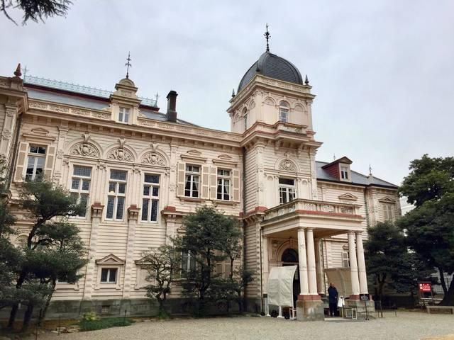 旧岩崎邸庭園 洋館(正面)