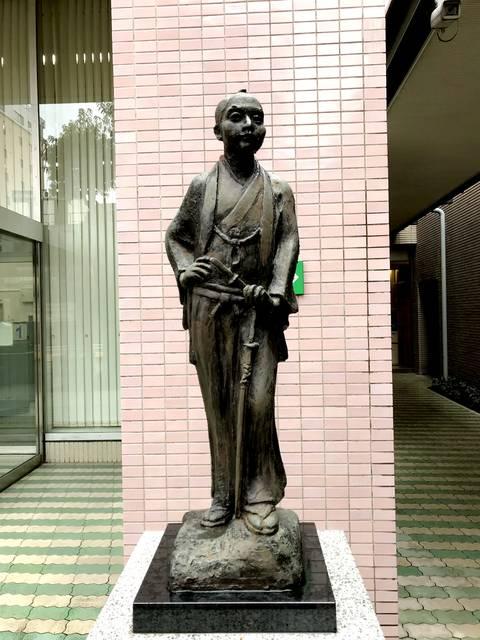 会沢正志斎 銅像