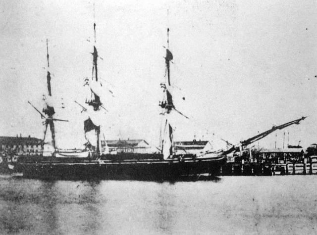 ペリー来航時の「黒船」