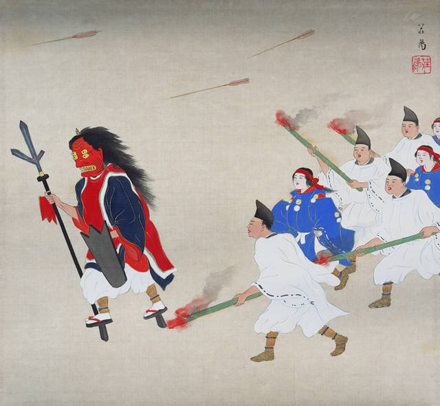 『吉田神社追儺』