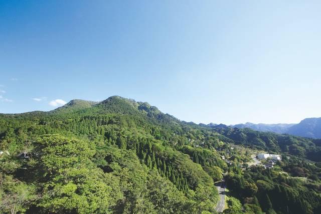 日本三大修験山・英彦山の全景