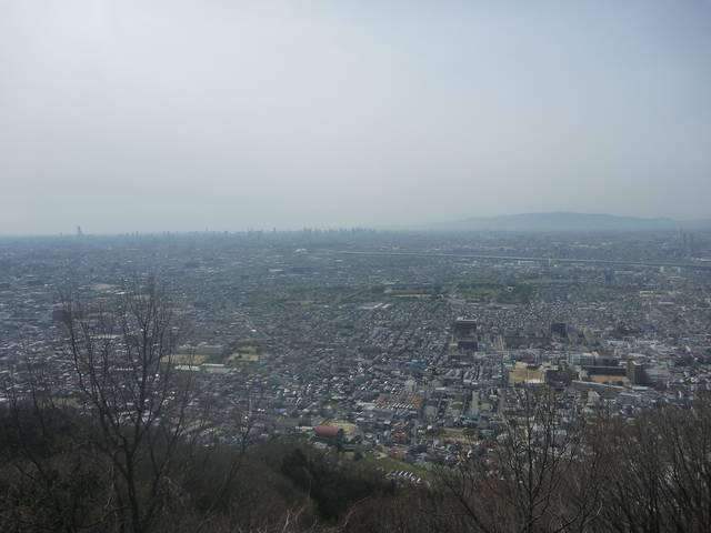 飯盛山より大阪市街を望む