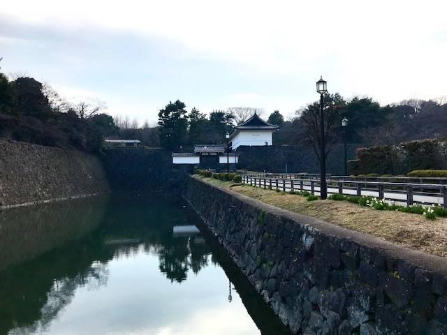 江戸城・清水門(東京都千代田区)