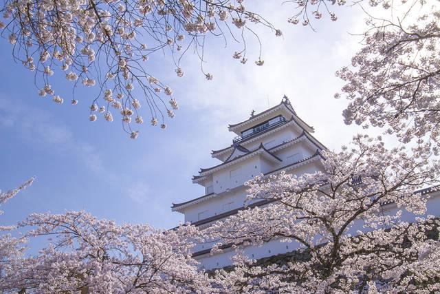 鶴ヶ城(福島県会津若松市)