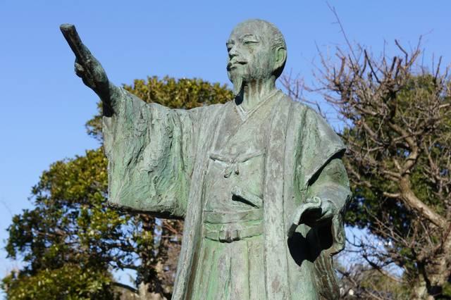 弘道館にある徳川斉昭像