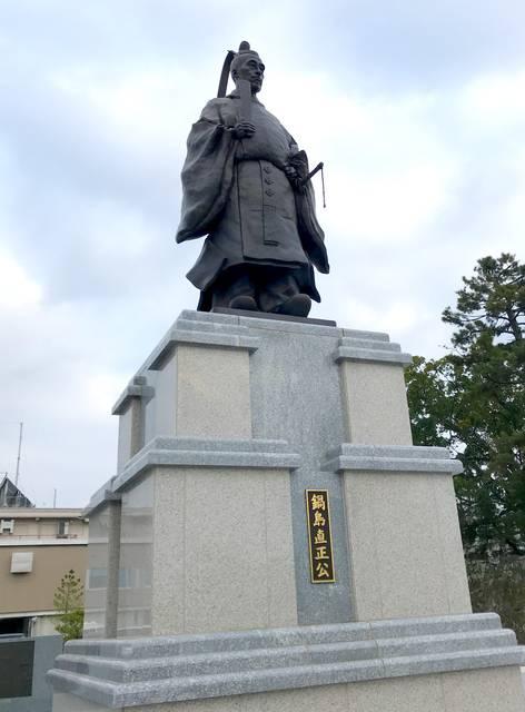 佐賀藩10代藩主・鍋島直正公銅像