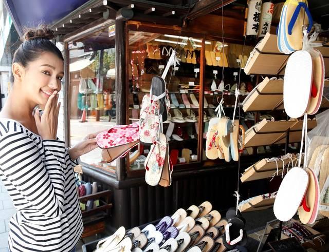 北品川商店街にある慶応元年創業の「丸屋履物店」