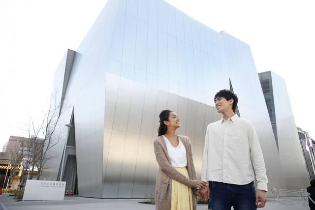 2016年に開館した「すみだ北斎美術館」