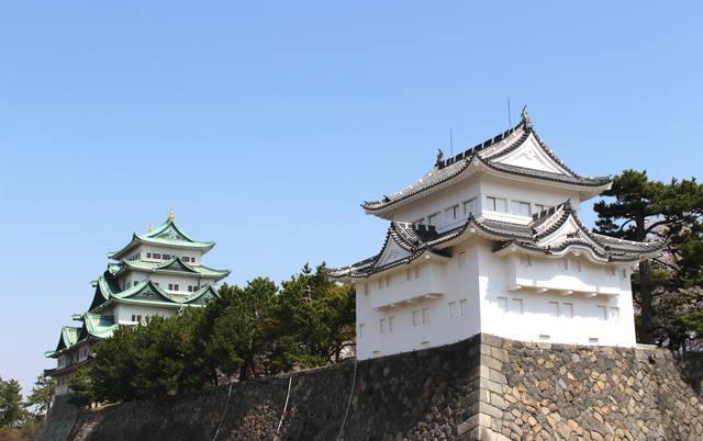 名古屋城 西南隅櫓と天守閣
