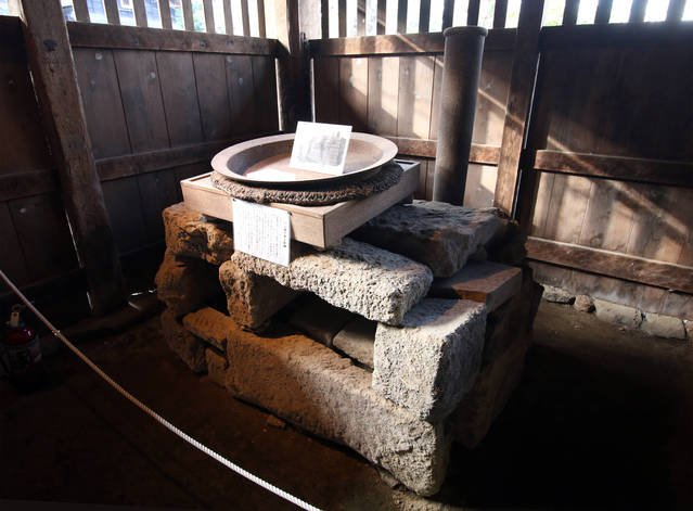 江川邸のパン焼き釜