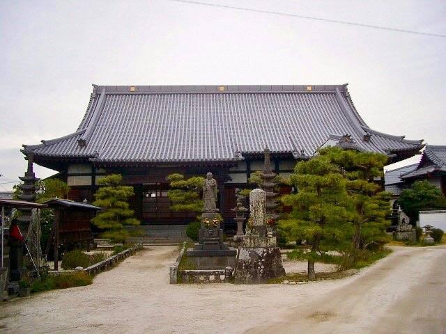 現在、江藤の墓がある本行寺(佐賀県佐賀市)