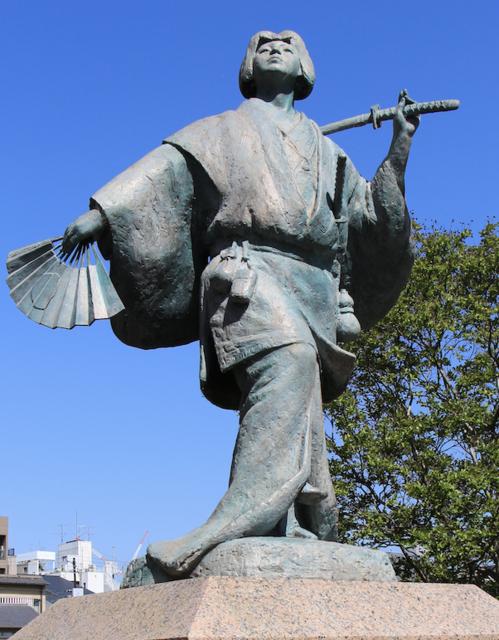 出雲の阿国像(京都府京都市)