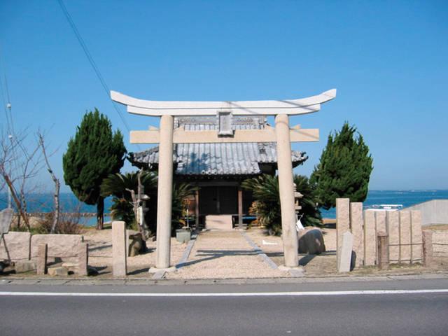 枯木神社(兵庫県洲本市)